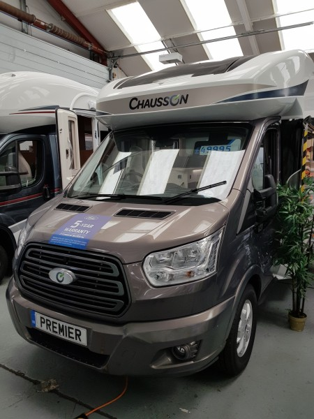 2018 Chausson 637 Welcome on a Ford chassis -