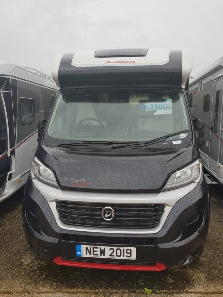 2019 Dethleffs Pulse t6811 GT Black -