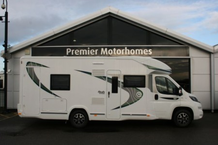 2018 Chausson FLASH SPECIAL EDITION 757 FIAT -