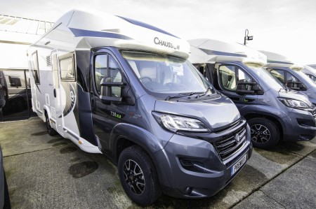 2018 Chausson Welcome 738XLB FIAT -