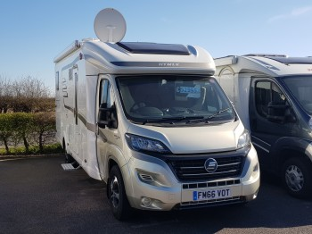 2017 Hymer TCL-678 Golden Limited