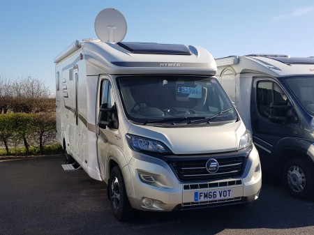 2017 Hymer TCL-678 Golden Limited -