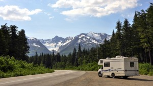 motorhome outdoors